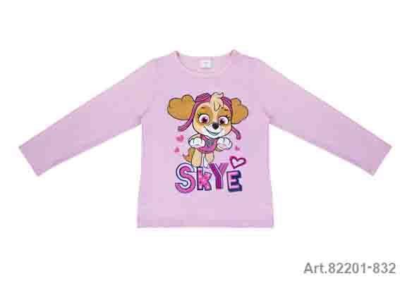 Püttmann Paw Patrol Nickelodeon Shirt Mädchen rosa