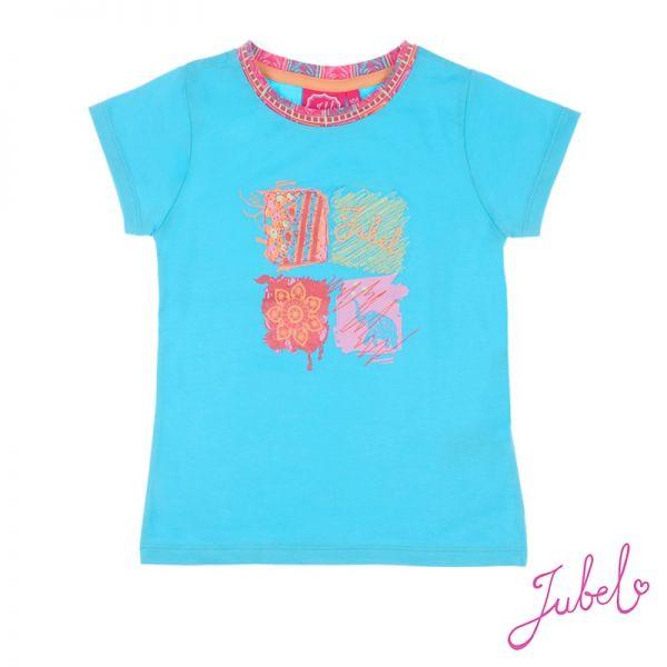 Jubel Bombay Festival T-Shirt blau