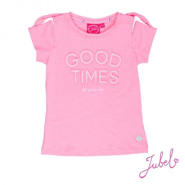 Jubel Discodip T-Shirt neon pink