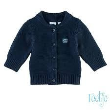 Feetje Perfect Strickjacke Junge navy