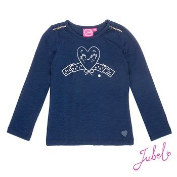 Jubel Sisterhood Longsleeve Shirt navy Mädchen