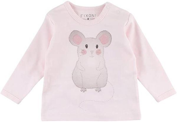 Fixoni Junge Grow Longsleeve Shirt rosa