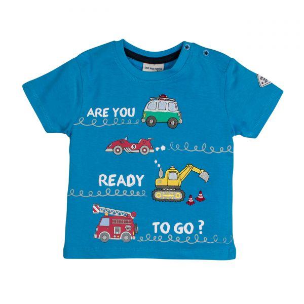 Salt and pepper T-Shirt Ready uni Stick Fahrzeuge