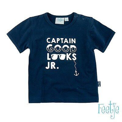 Feetje Captain T-Shirt navy