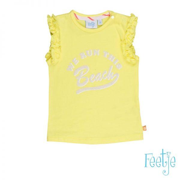 Feetje La Isla T-Shirt gelb