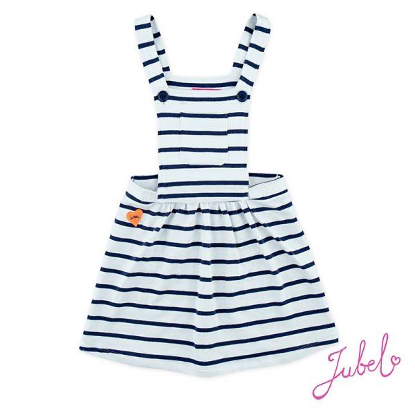 Jubel Easy Kleid weiß mit Träger