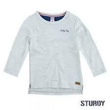 Sturdy Shirt Longsleeve Junge offwhite