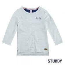 Sturdy Gym Shirt Longsleeve Junge offwhite