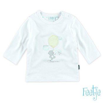 Feetje Little Bear Shirt weiß
