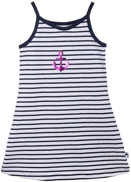 Stummer Sommerkleid Strandkleid Maritim Anker