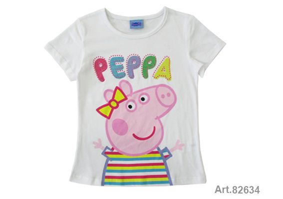 Püttmann Peppa Wutz Pig T-Sirt Mädchen