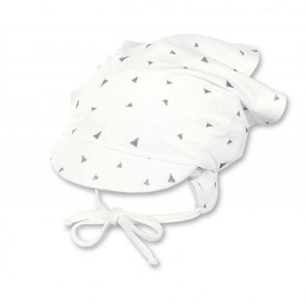 Sterntaler Tuchmütze Kopftuch mit Schild Mädchen