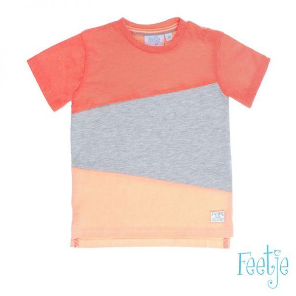 Feetje Pool Party Polo T-Shirt neon orange