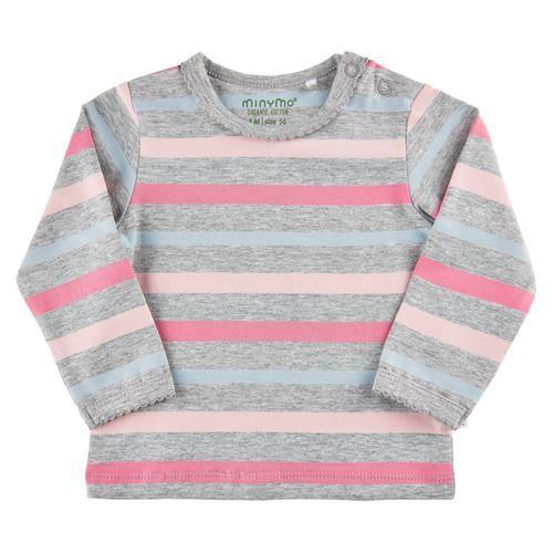 Minymo Shirt Mädchen grau