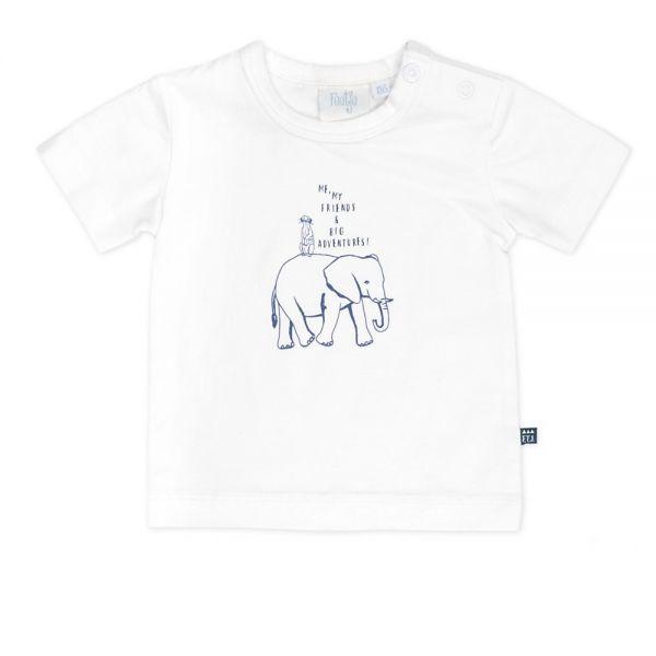 Feetje Wild and free T-Shirt weiß Elefant