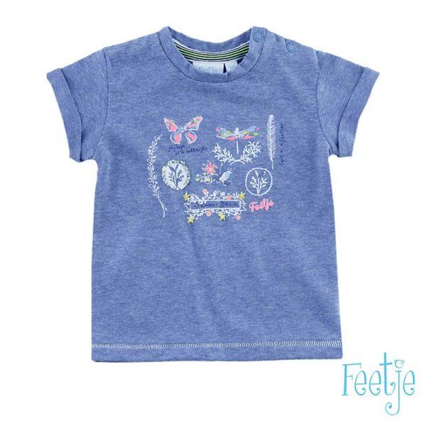 Feetje Breeze T-Shirt blue melange