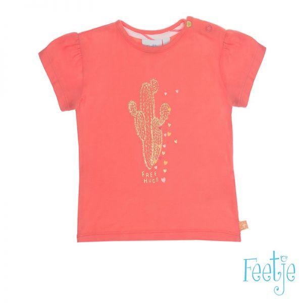 Feetje La Isla T-Shirt coral