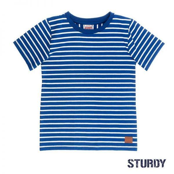 Sturdy T-Shirt blau Kobalt Junge