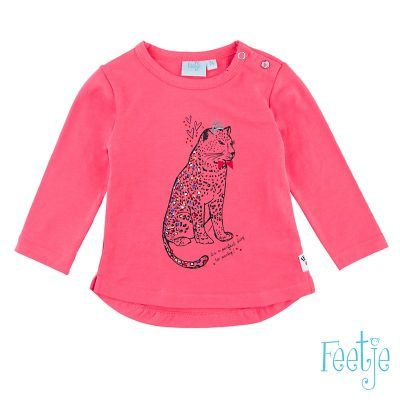 Feetje City Panther Shirt pink