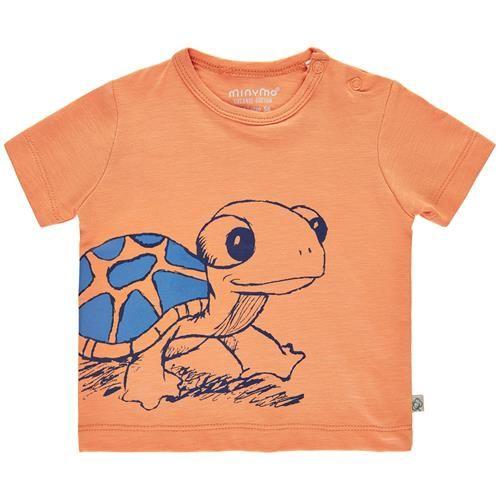 Minymo T-Shirt Junge orange