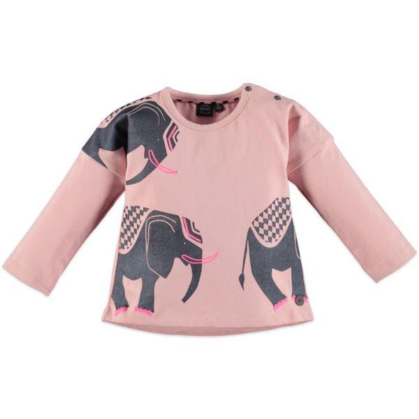 Babyface Shirt Elefant chalk pink