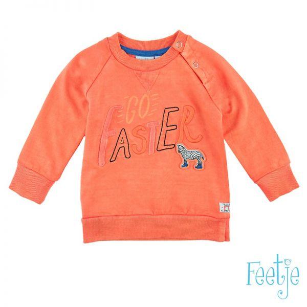 Feetje wheels Sweater orange