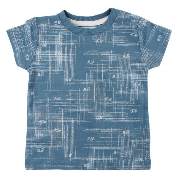 Small Rags T-Shirt hellblau