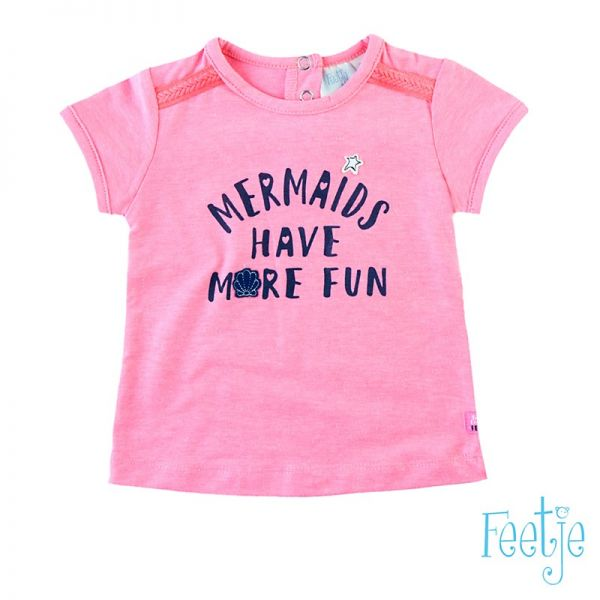 Feetje Pretty paisley T-Shirt pink