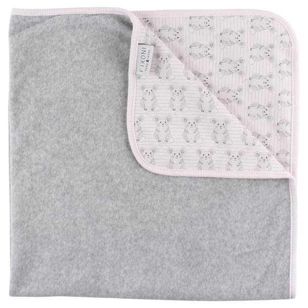 Fixoni Baby Tagesdecke, Grow Blanket, SOFT ROSE