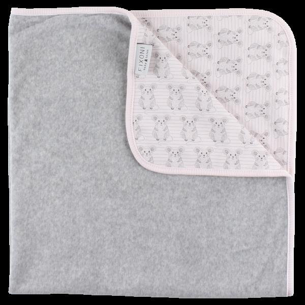 Fixoni Baby Tagesdecke, Grow Blanket, SOFT ROSE
