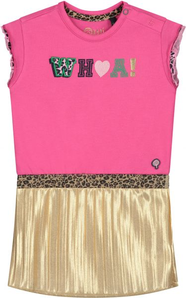 Quapi Becky Kleid Hot pink