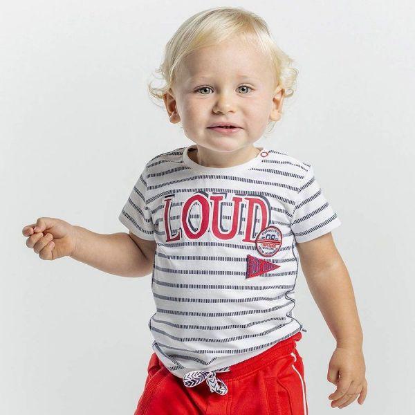 Quapi Ricardo T-Shirt Junge weiß