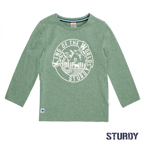 Sturdy Expedition Shirt Longsleeve Junge army