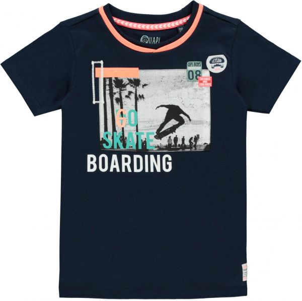 Quapi Sep T-Shirt Junge navy