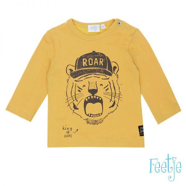 Feetje Cool Dude Shirt gelb