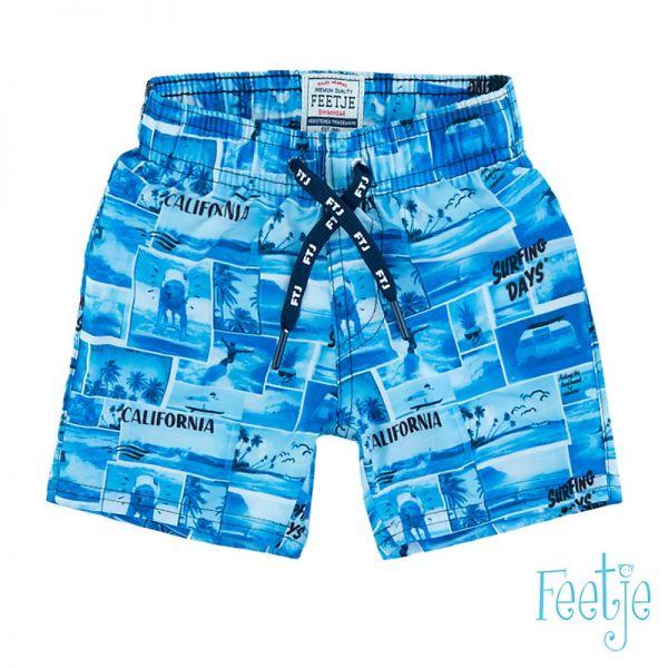 Feetje Schwimmshorts Badehose Junge blau
