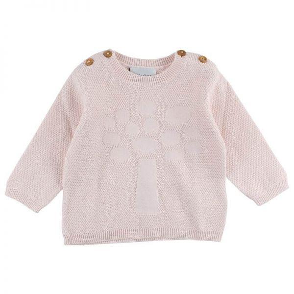 Fixoni Pullover rosa Strick