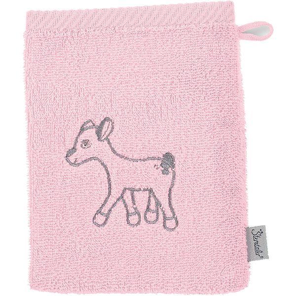 Sterntaler Waldis Rosie Waschhandschuh rosa