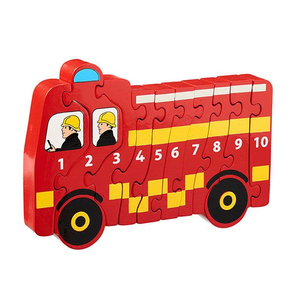 Lanka Kade Holzpuzzle Feuerwehr 1-10