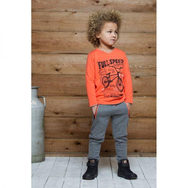 Sturdy Sweatshirt orange Junge Wendesweatshirt