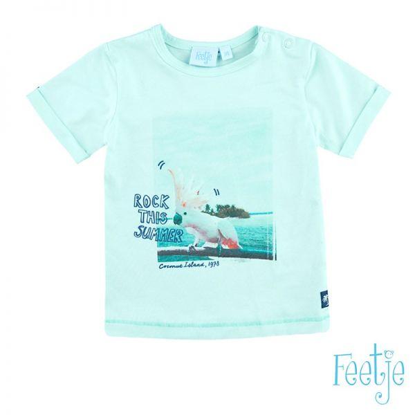 Feetje Mini Island T-Shirt mint Junge