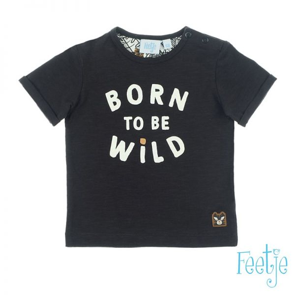 Feetje Born to be wild T-Shirt anthracite