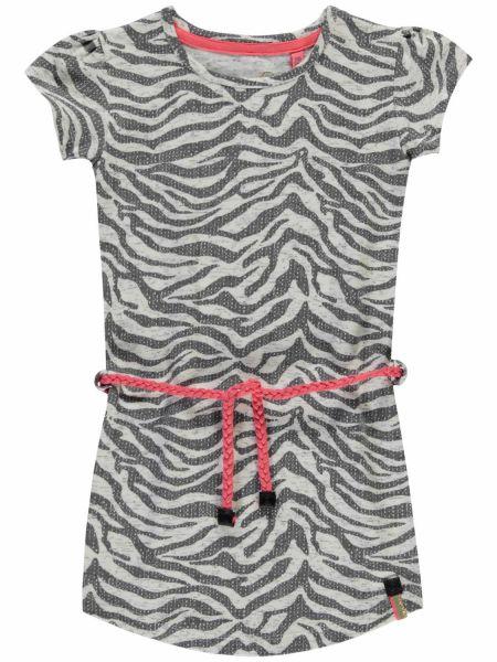 Quapi Saar1 Kleid Zebra Look