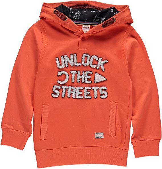 Sturdy Wheels Sweatshirt orange Junge
