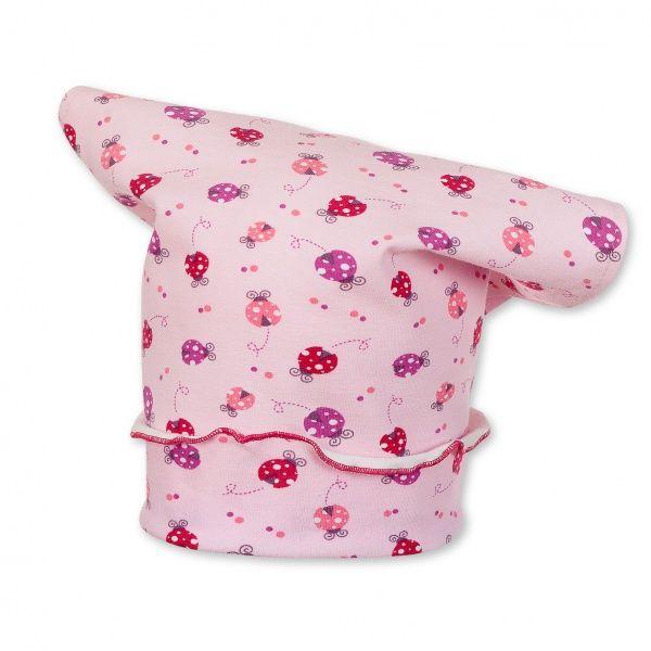 Sterntaler Kopftuch für Mädchen mit süßen Marienkäfern