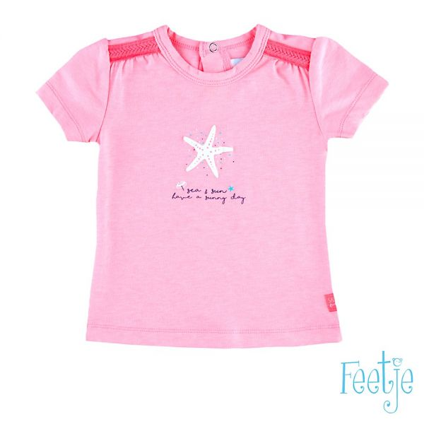 Feetje Salty but sweet T-Shirt neon pink