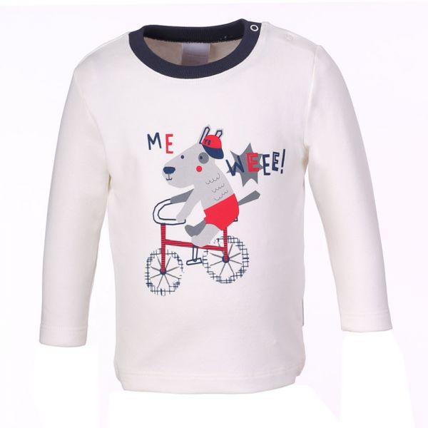 Stummer Sweatshirt weiß