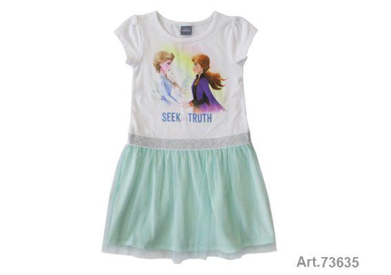 Püttmann Disney Frozen 2 Anna und Elsa Kleid Tüll