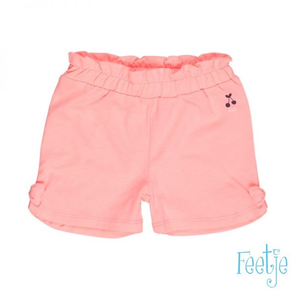 Feetje cherry Short coral pink