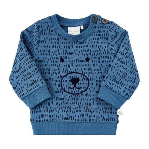 Minymo Sweatshirt blau Junge